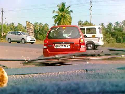 Roads in Goa: Utorda to Panjim