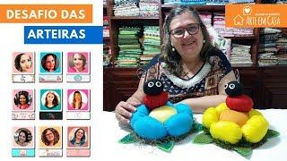 Projeto Dia das Mães – Peso de Porta de Flor