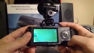 Camera hành trình R300 2 camera, định vị GPS
