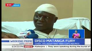 A chief in Kilifi badly beaten after stopping disco Matanga