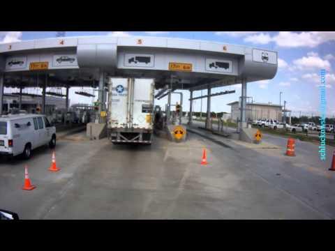 Border Patrol Station, Texas, Cotulla, I-35 north (mm 29)