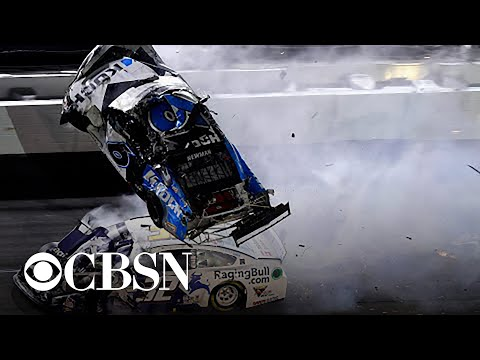Ryan Newman hospitalized after terrifying crash at Daytona 500