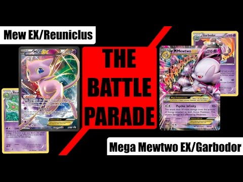 The Battle Parade - Mew EX/Reuniclus vs Mega Mewtwo EX/Garbodor