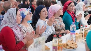 Вечер нижегородских татар в Шатре Рамадана 2016