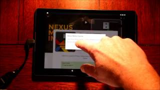 Nexus 9 USB drive access