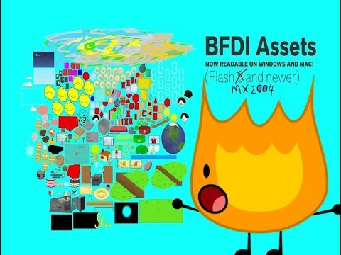 BFDI ASSETS FOR FLASH MX 2004