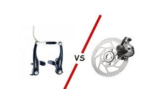 V-brake vs. Дисковая механика Vel Com - Battle(Хэй-Хэй!! Сегодня первая серия нового проекта Vel Com - Battle! Да разрешится спор между двумя разными тормозными..., 2015-12-06T23:44:56.000Z)