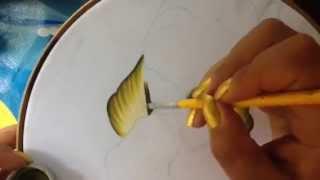 Pintura en tela carpeta tulipanes 1 con cony
