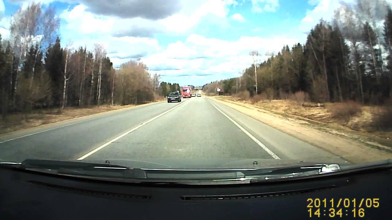 78 лет за рулем - авария