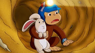 Jorge el Curioso en Español 🐵 Jorge Hace un Túnel 🐵 Episodio Completo 🐵 Caricaturas Para Niños