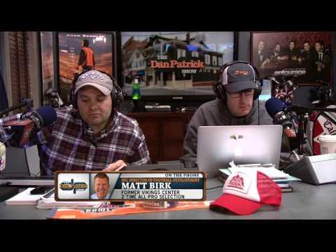Matt Birk on the Dan Patrick Show (Full Interview) 3/4/15