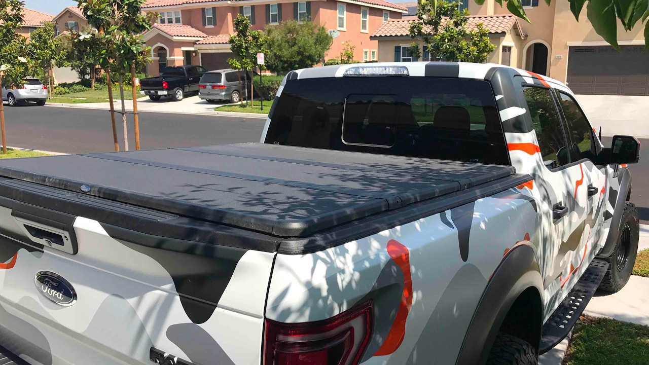 2017 Ford Raptor Bed Cover Instal Video Response To Nono Youtube
