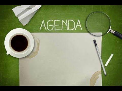 Ministry Agenda (2018)