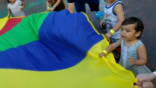 Parachute Game For Toddlers
