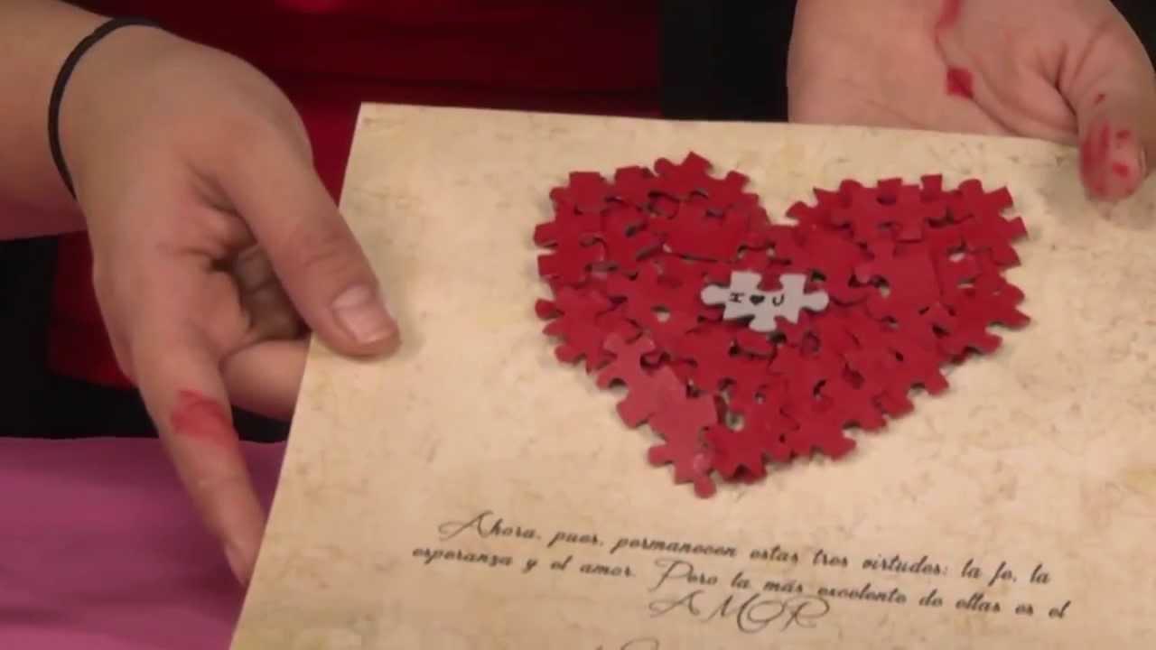Regalo creativo para el d a de san valent n princesas del - San valentin regalos ...