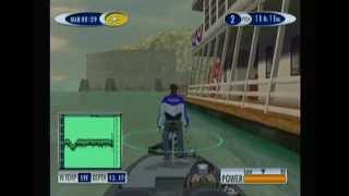Sega Bass Fishing 2 Gameplay - Tiger Marina - Sega Dreamcast