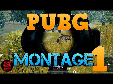Montage 1 - PLAYERUNKNOWN'S BATTLEGROUNDS (duo & solo)