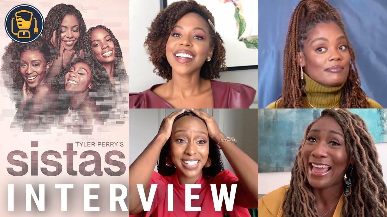 Download Tyler Perry's 'Sistas' Season 2 Cast Interview (KJ Smith, Mignon, Ebony Obsidian, Novi Brown + More)