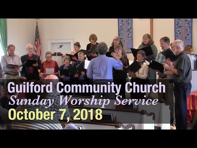 Guilford Church Service - 10/7/18