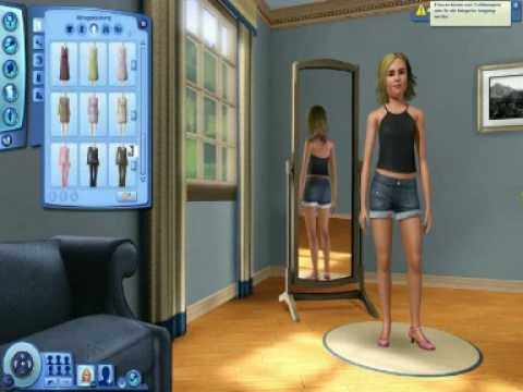 die sims 3 sim erstellen youtube. Black Bedroom Furniture Sets. Home Design Ideas