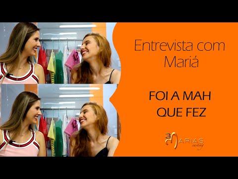 TV 3Marias: Entrevista com Mariá - Foi a Mah Que Fez