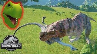 CYRUS NOOOO!! DON'T EAT JEFFREY!!!!   Jurassic World Evolution   Fan Choice Friday