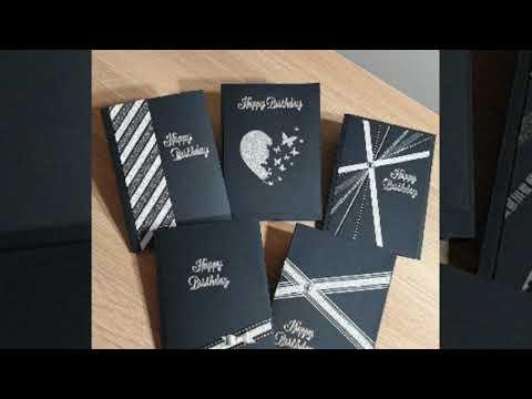 Washi tape card making ideas