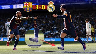 المباراة اللتي كان فيها ميسي مُجرماً 🚫 بسبب مافعله ضد ريال مدريد 😈💪