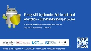 Privacy with Cryptomator: End-to-end cloud ... (by Christian Schmickler and Markus Kreusch)