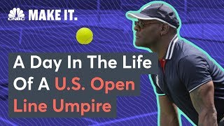 What It's Like To Be A U.S. Open Line Umpire