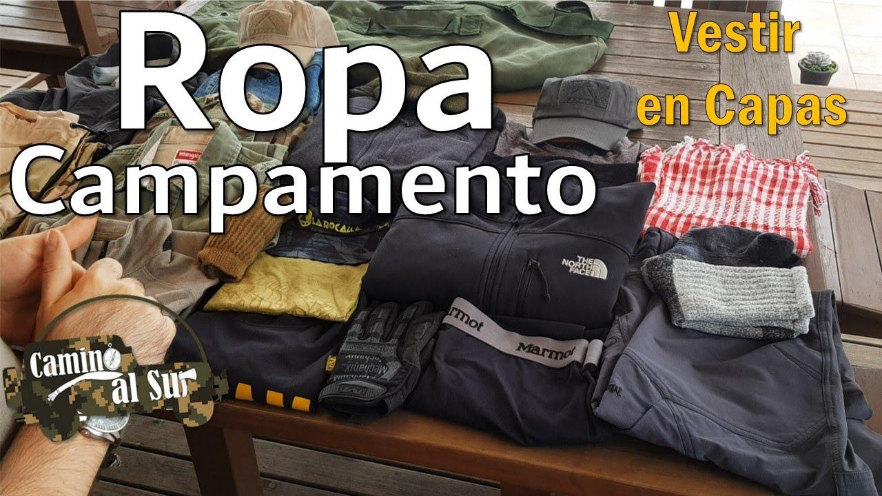 Ropa para Campamento | ¿Cómo VESTIR en CAPAS?