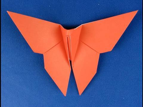 Farfalla Origami Origami Butterfly Instructions 折り紙 折纸 Youtube
