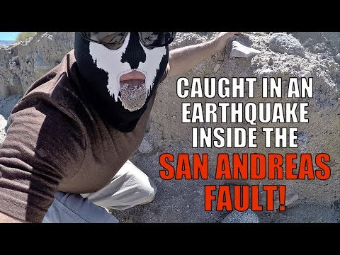 CAUGHT INSIDE THE SAN ANDREAS FAULT!! ( During an Earthquake!!! )