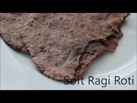 Soft Ragi Roti Recipe - How to make Indian Finger Millet Flat Bread