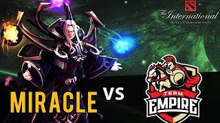 MIRACLE INVOKER ПРОТИВ TEAM EMPIRE | Liquid vs Empire The International 2017