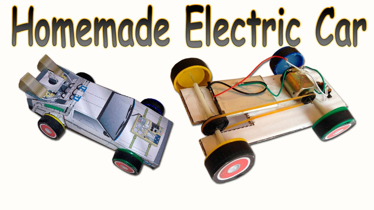 How to Make a Homemade Electric Car (DeLorean Back to the Future ...