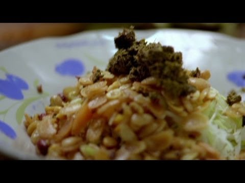 Myanmar: Tea you can eat  (Anthony Bourdain Parts Unknown)