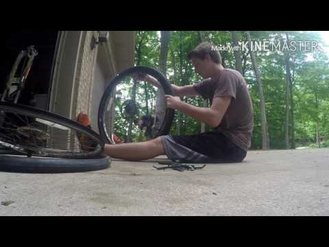 Tire swap on trek bike