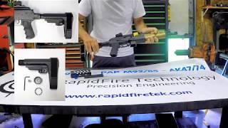 NAK9 vs  PAK9 9mm Draco ak47 comparison