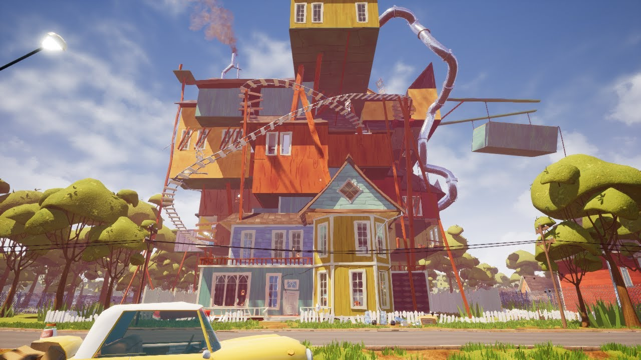 download hello neighbor alpha 4 free pc