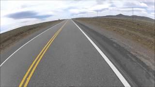 Visitando Argentina (15) - Almafuerte - Chubut - Honda CG 150 - Go Pro - Ruta Nacional 40
