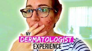 SO I FINALLY WENT TO A DERMATOLOGIST... || Jess Bunty Vlog 9
