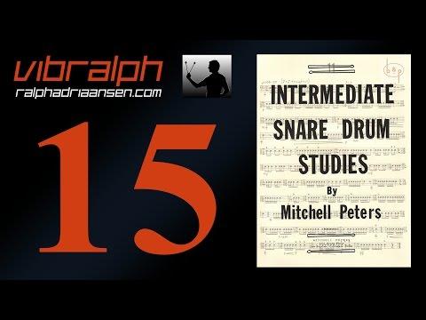 Vibralph - Intermediate snare drum studies Study #11
