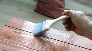 (2편)목재원목2차샌딩…