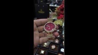 Michael Kors Women's Chronograph Parker Rose Gold-Tone Stainless Steel Bracelet Watch 39mm MK6106