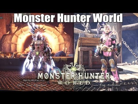 Monster Hunter: World - Arch Tempered Xeno'jiiva Armor Set and Commission Layered Armor [PS4 Pro] thumbnail