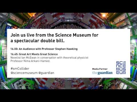 Stephen Hawking: The Science Museum Live Stream