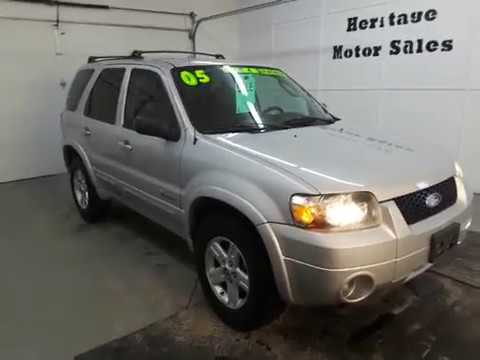 2005 Ford Escape Hybrid Youtube