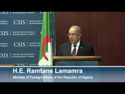 Statesmen's Forum  Algerian Foreign Minister Ramtane Lamamra