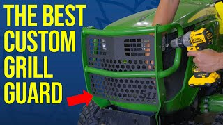 GNARLY GRILL GUARDS PROTECT YOUR TRACTOR! JOHN DEERE & KUBOTA!